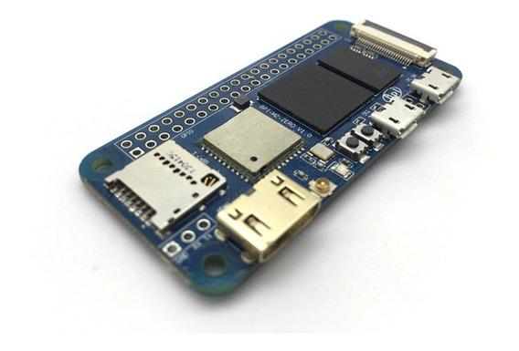 Banana Pi Bpi M2 Zero H2 Quad-core Cortex-a7 512 Mb Ddr3 Wifi Hd 1080p Saída De Vídeo