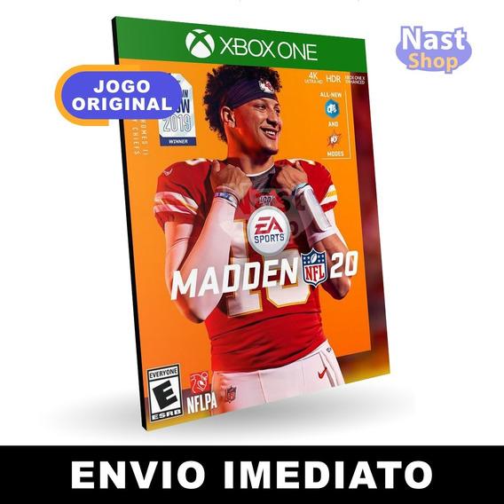 Madden Nfl 20 Xbox One Mídia Digital Envio Imediato