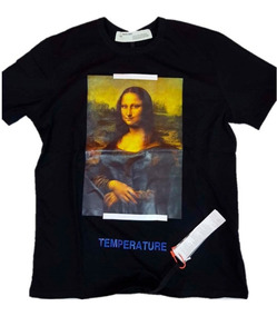 Playera Off White Mona Lisa