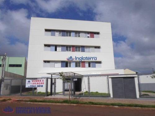 Apartamento, 46 M² - Venda Por R$ 150.000,00 Ou Aluguel Por R$ 750,00/mês - Jardim Piza - Londrina/pr - Ap0670