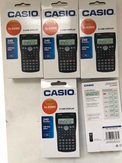 Calculadora Científica 100%original Casio Fx-82-ms.nuevas
