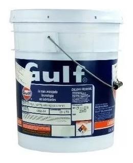 Aceite De Caja Transmision Sae 90 Balde X20 Litros Gulf