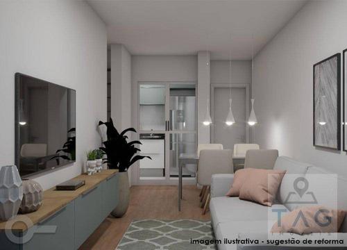 Apartamento Com 1 Dormitório À Venda, 39 M² Por R$ 585.000,00 - Moema - São Paulo/sp - Ap1303