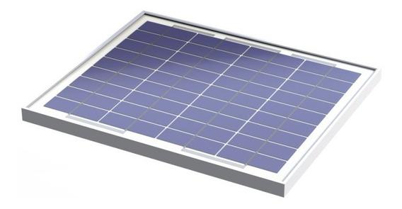 Panel Solar Policristalino Fotovoltaico 12v 10w/ Tech