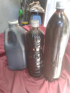 Aceite De Motor Usado (quemado) Por Litro
