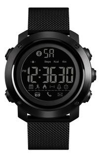 Reloj Inteligente Hombre Skmei 1462 Smart Bluetooth Negro