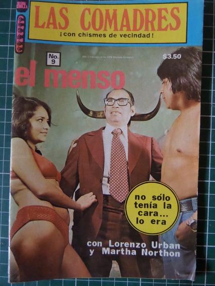 Revista Las Comadres Fotonovela El Menso Vedets