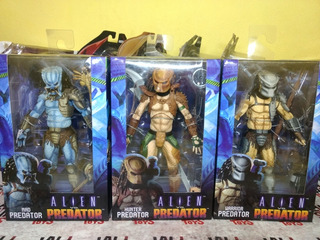 Set Arcade Predator: Mad, Warrior Y Hunter Predator Neca