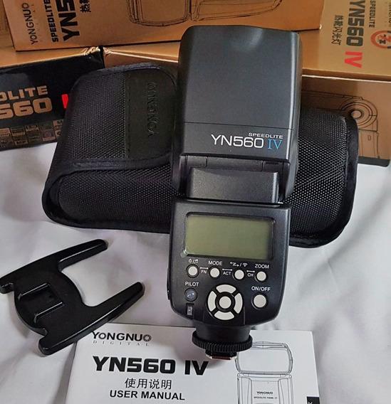 Flash Yongnuo Yn560 Iv Canon T5i 6d T6 T3 5d Nikon Fotografo