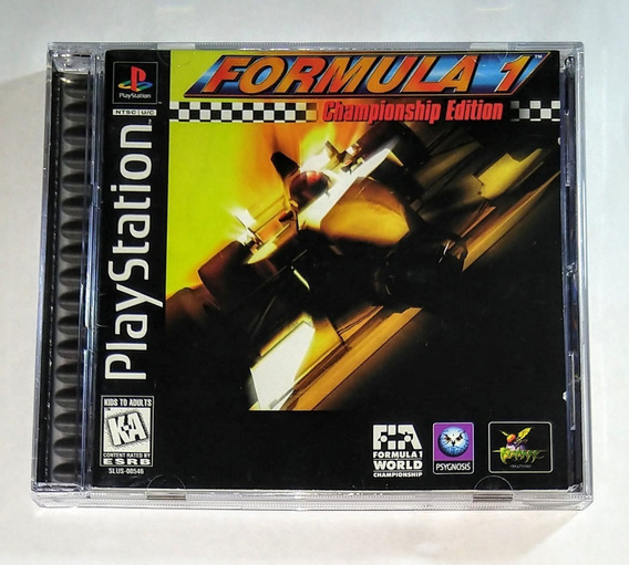 Formula 1 Championship Edition Original Completo Ps1 Cr $15