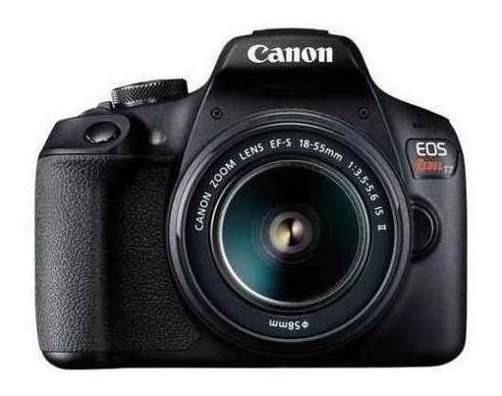 Câmera Digital Canon Eos Rebel T7 Dslr 24.1 2727c010aa Mp 3