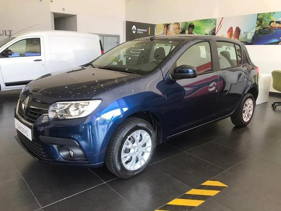 Renault Sandero Life 1.6 16v - Tasa 0% Mitad De Auto (juan)