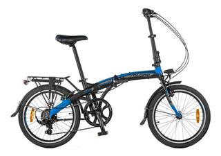 Bicicleta Aurora Folding Smart Bk Plegable Unica + Accesorios Ultimo Modelo