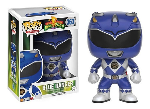 Funko Pop! Blue Ranger Power Rangers #363