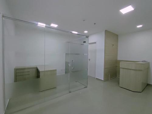 Imagem 1 de 25 de Sala À Venda, 51 M² Por R$ 420.000,00 - Gonzaga - Santos/sp - Sa0117