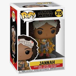 Figura Funko Pop Movies 315 Jannah - Star Wars Oferta!
