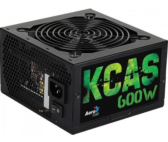 Fonte Aerocool 600w Kcas 80 Plus Bronze Kcas-600w