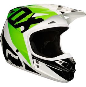 Capacete Fox V1 Race Modelo Novo Motocross Trilha Velocross