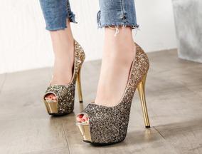 Lindo Sapato Feminino Importado Festa - Frete Grátis