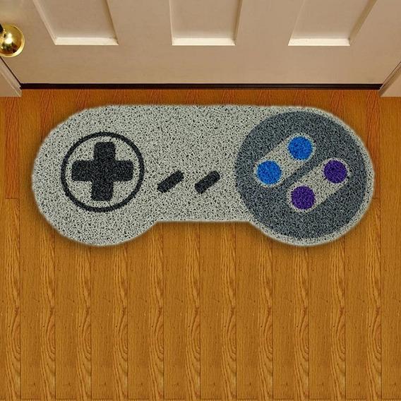 Tapete Capacho Criativo Geek Controle Nintendo