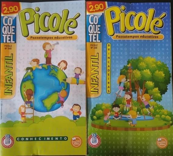 Revista Passatempo Educativo Picolé