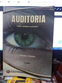Livro Auditoria Teoria E Questões Comentadas