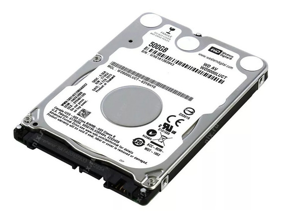Hd 500gb Notebook Western Digital Slim