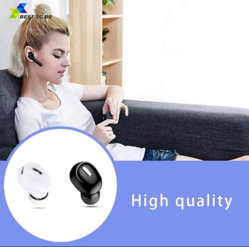 Imagem 1 de 5 de X9 Mini 5.0 Bluetooth Fone De Ouvido Com Microfone Sem Fio