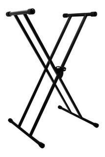 Soporte Stand Base Para Teclado Plegable Metalico Reforzado