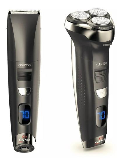 Afeitadora Gama Gsh950 2 En 1 Sistema 3 Track 3 Cabezales