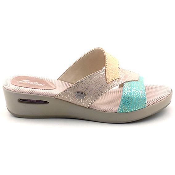 Chinela Mujer Cuero Cavatini Sandalia Zapato - Mcch26022