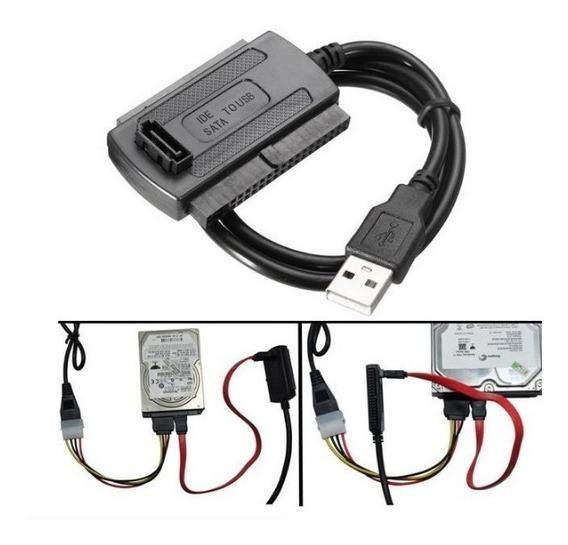 Kit Adaptador Ide / Sata Disco Duro Pc Laptop A Cable Usb