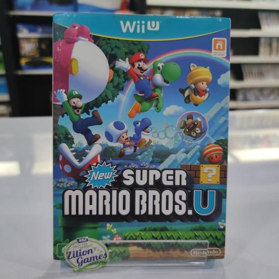 New Super Mario Bros. U Nintendo Wii U Com Luva - Completo