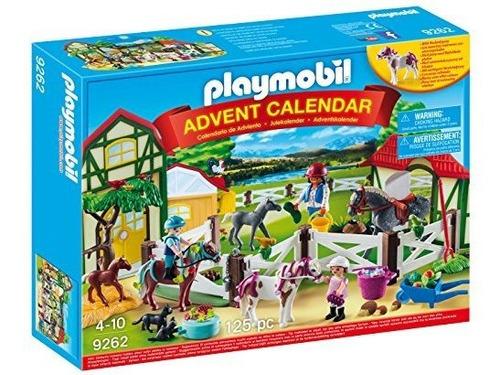 Playmobil Granja Multicolor Calendario De Adviento 9262