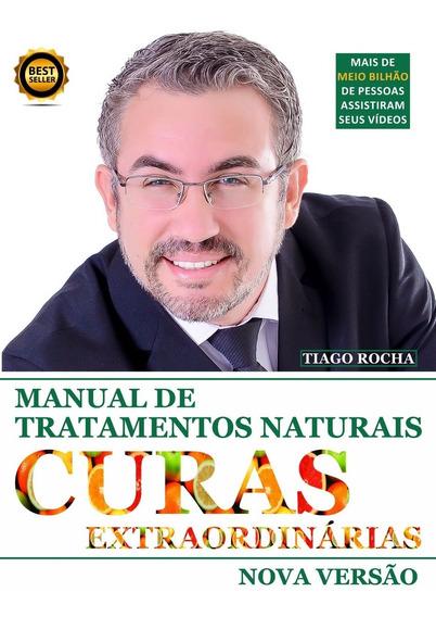 Frete Grátis Em 12x Livro Curas Extraordinárias Tiago Rocha