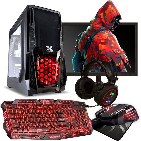 Pc Gamer I5 8gb Ram Hd 500gb Geforce 4gb Monitor 20 Headset