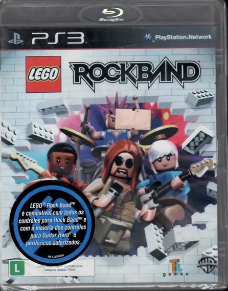 Lego Rockband Ps3 Original Mídia Física Novo