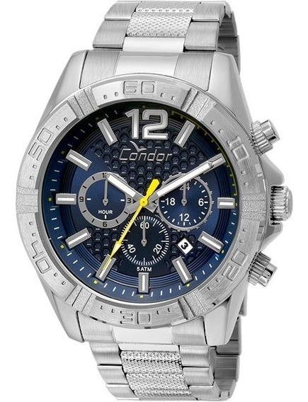 Relógio Condor Masculino Cronógrafo Covd33aq/3a