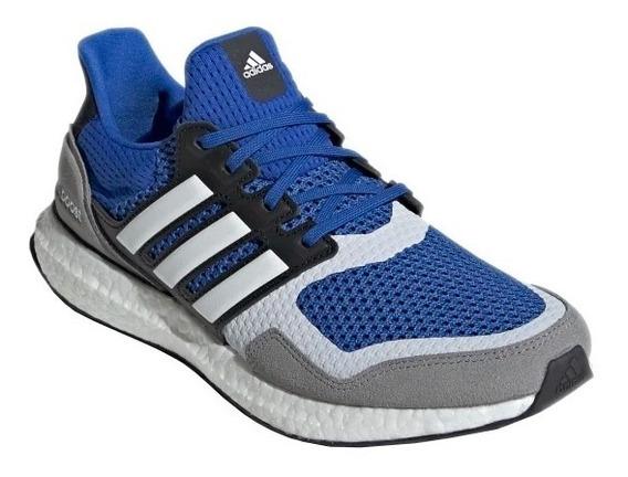 Tênis adidas Ultraboost Sl Azul Com Branco