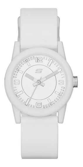 Reloj Skechers Correa Plastico Blanco