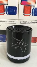 Mini Caixinha Som Portátil Bluetooth Mp3 Fm Sd Usb Hi T-208