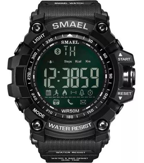 Relógio Masculino Militar Smart Smael 1617b