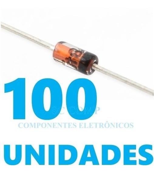 100pçs Diodo Retificador 1n4148