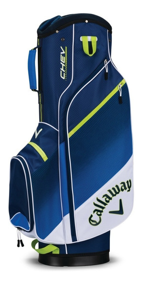 Bolsa Callaway Chev Cart Bag Wht/blue/ngrn 18