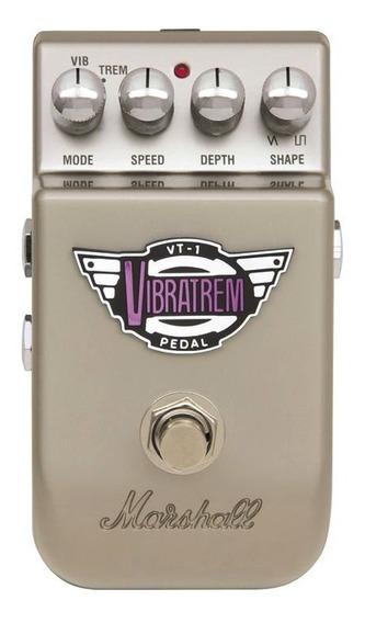 Pedal Marshall Vt-1 Vibratrem C/ Controle Para Guitarra