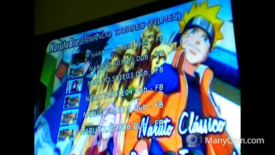 Naruto (clássico E Shipuuden) 2 Dvds (filmes E Ovas