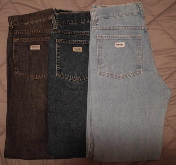 Lote De 3 Jeans Wrangler Montana