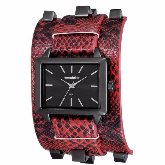 Relógio Mondaine Feminino Fashion Vermelho 76391lpmvph2