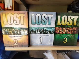Lost Temporadas 1 Al 3 Originales
