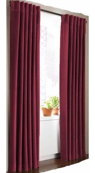 Cortinas Blackout Textil Lavable 2 Paños 140x220 Barral Envio Gratis